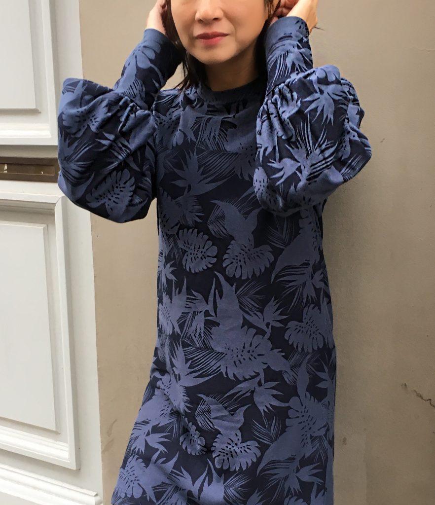 robe sweat Zebre IAM Pattern mode couture