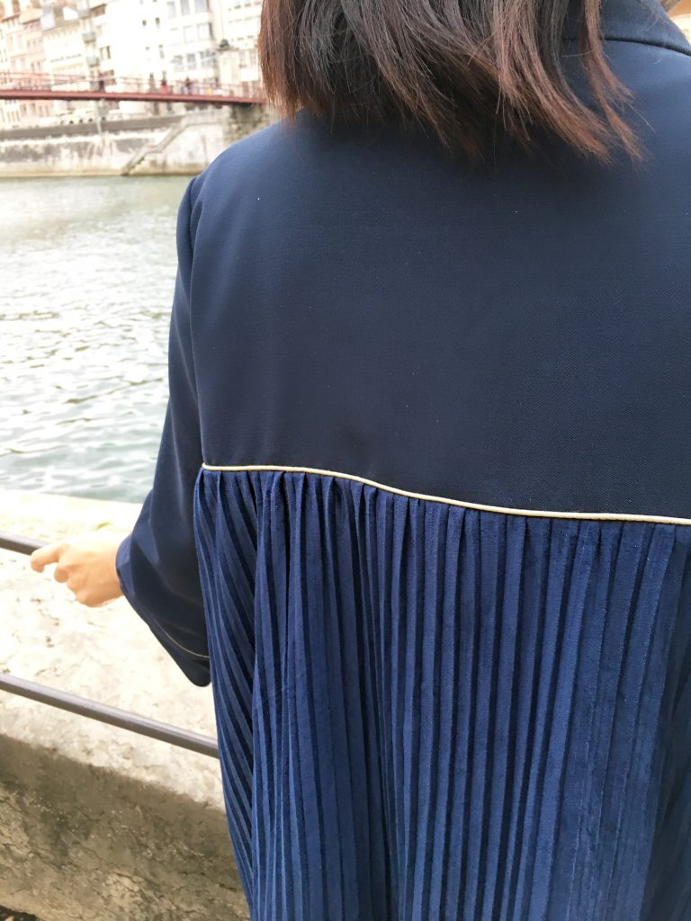 mode couture dessine moi un patron veste sable maje