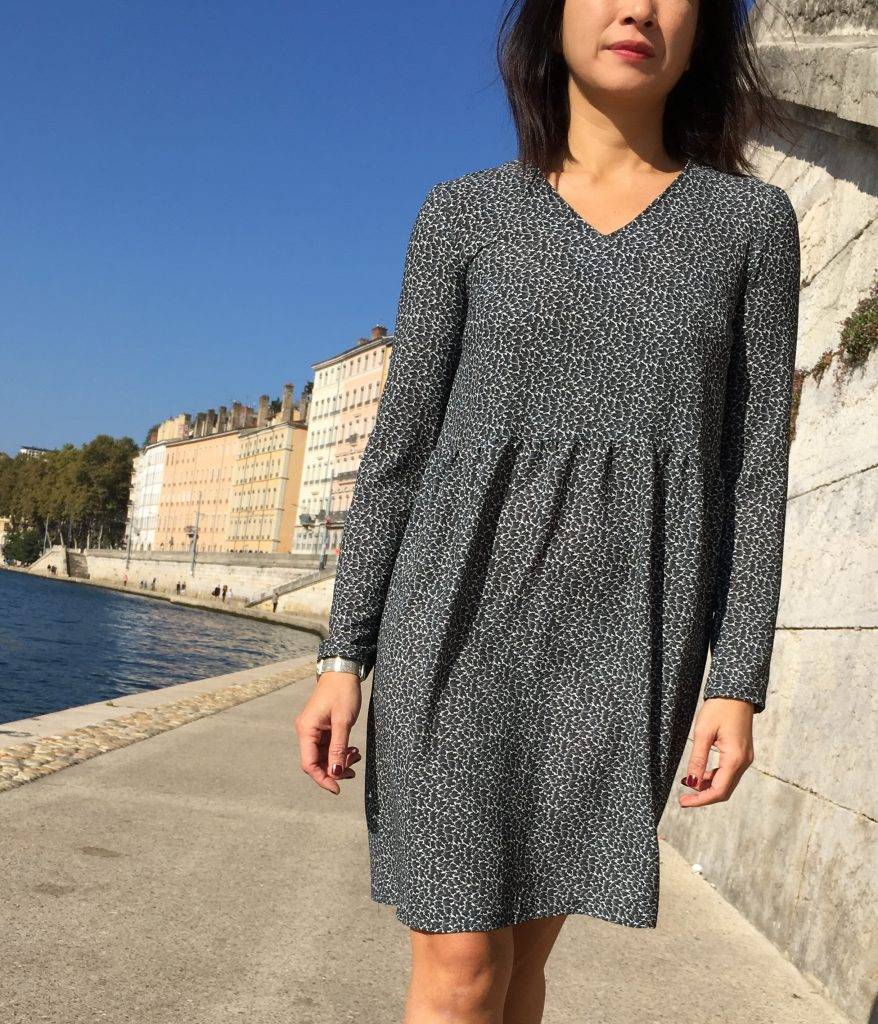 Robe Idylle by Atelier Scammit - Mode couture - printstand