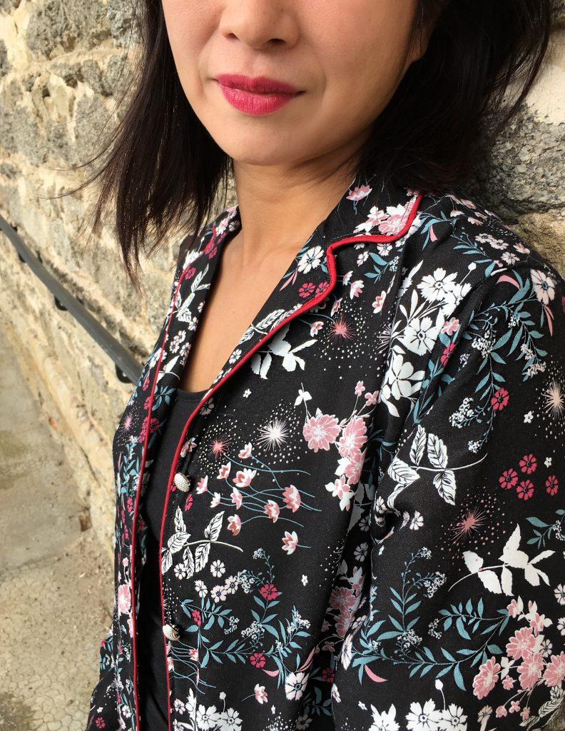 Veste pyjama Wear Lemonade - Mondial Tissus - mode couture