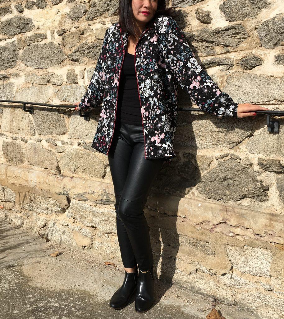 Veste pyjama Wear Lemonade - Mondial Tissus mode couture