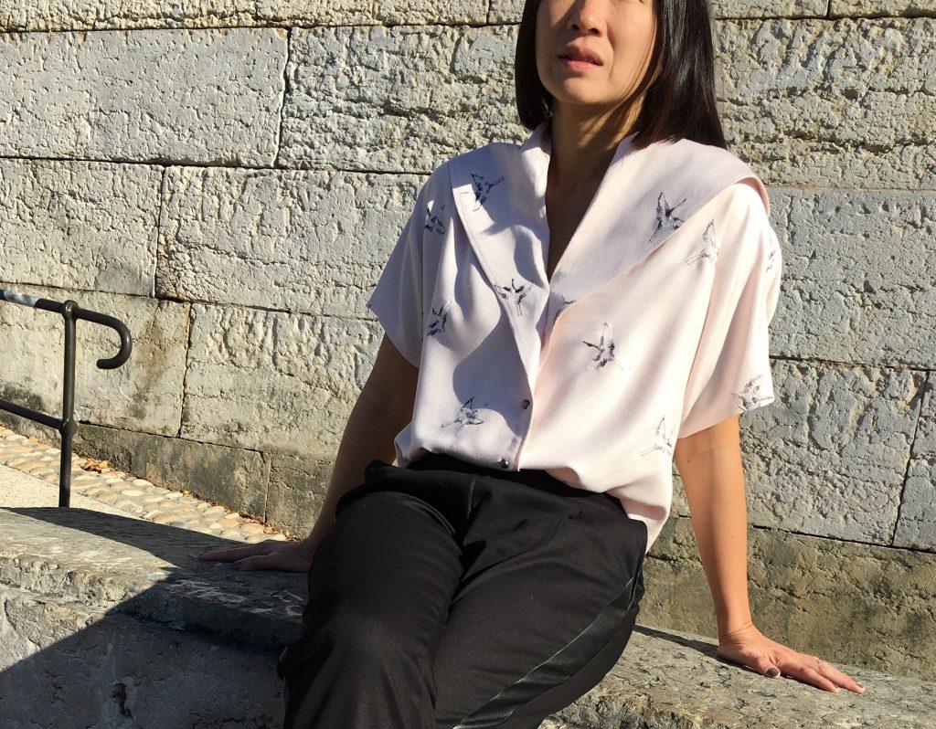Blouse Carla by Wear Lemonade x Toto - Pantalon Bruges by Orageuse - mode -couture