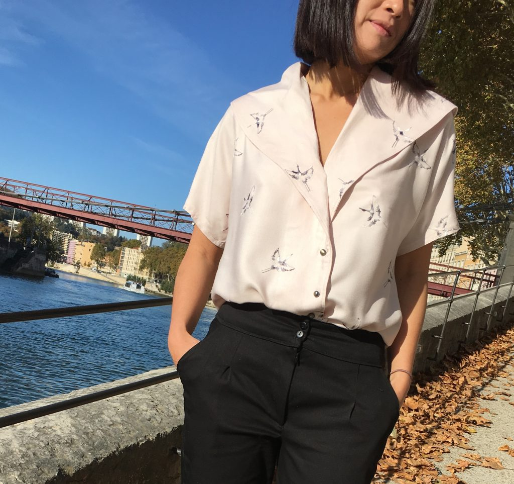 Blouse Carla by Wear Lemonade x Toto - Pantalon Bruges by Orageuse -mode -couture