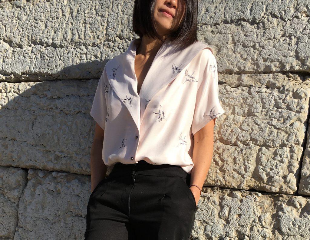 Blouse Carla by Wear Lemonade x Toto - Pantalon Bruges by Orageuse - mode - couture