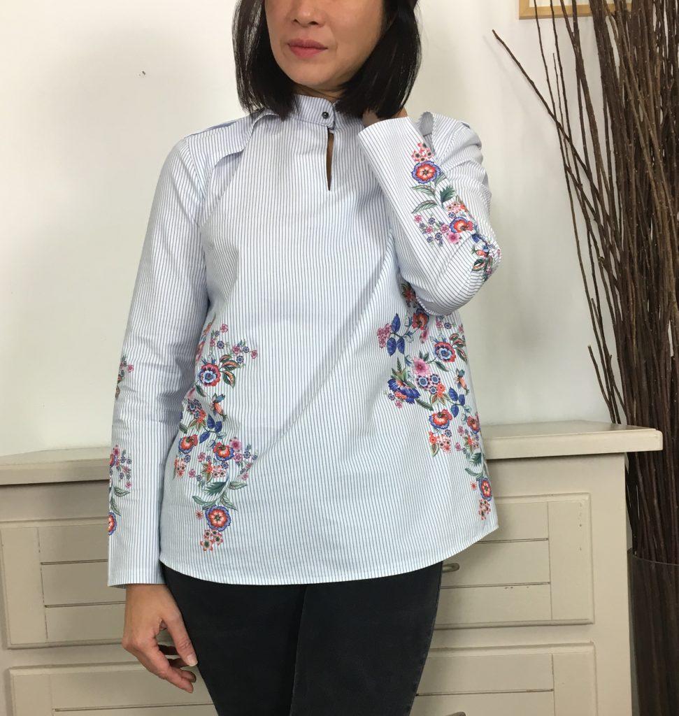 Blouse Rocaille by Dessine moi un patron mode couture