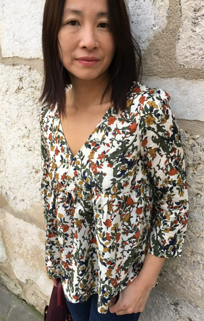 Blouse Eugenie – Flowers