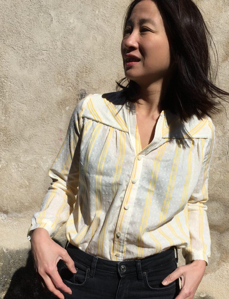Blouse Envol - Atelier Scammit & Pretty Mercerie  blog mode couture